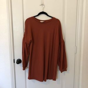 Loveriche Sweater/TShirt Dress